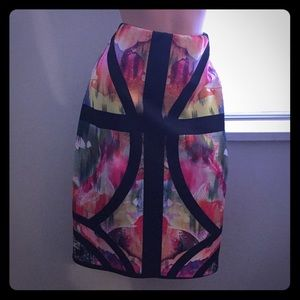 Fashion to figure tie dye pencil skirt size 1x
